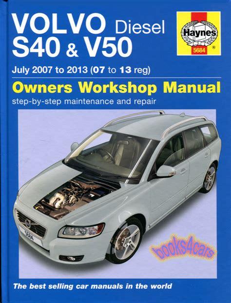 free online auto service manuals 2010 volvo s40 parental controls shop manual s40 v50 service repair volvo haynes book chilton ebay