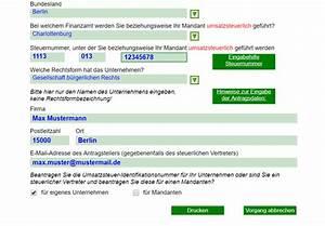 Online Metzgerei Versand Auf Rechnung : beantragen sie ihre ust idnr ~ Themetempest.com Abrechnung