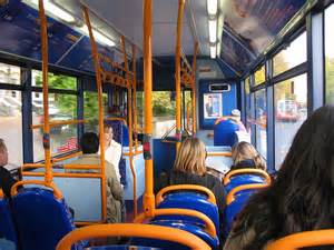 Stagecoach Bus Inside