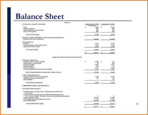 simple balance sheet exle authorization letter pdf