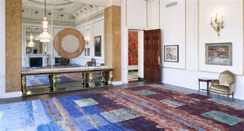 toronto firm transforms canadian paintings  carpets