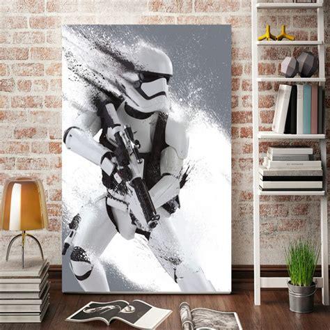 morden wall art stormtrooper star wars  poster home
