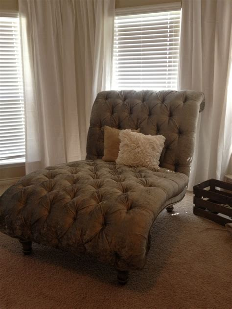 chaise longue design tufted chaise lounge chair in our master bedroom