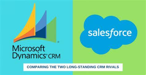 microsoft dynamics crm  salesforce  comparative guide