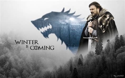winter   stark wallpaper