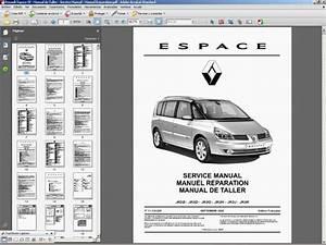 Renault Espace Iv - Manual De Taller