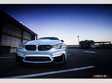 Moonstone Metallic BMW M4 Shows Its M Performance Parts