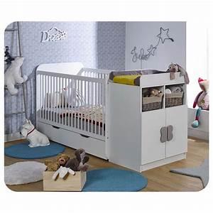 Lit évolutif Bébé : lit b b volutif holly blanc chambres de fabrication ~ Melissatoandfro.com Idées de Décoration