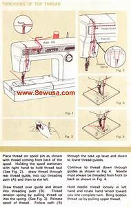 Kenmore 158 1814 1914 Sewing Machine Threading Diagram