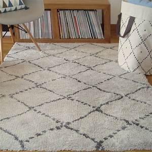 tapis chambre de bebe poils longs nomad beige With tapis chambre bébé avec bouquet a envoyer
