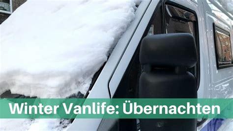schlafen mit heizung winter vanlife im auto wohnmobil schlafen ohne heizung