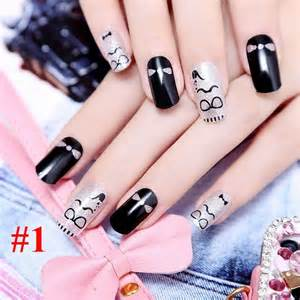 Cute korean nail art designs nails polish colour