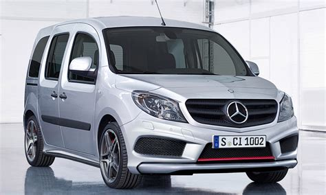 This orderly layout can also be enjoyed in a used. Mercedes Citan 45 AMG - autoevolution