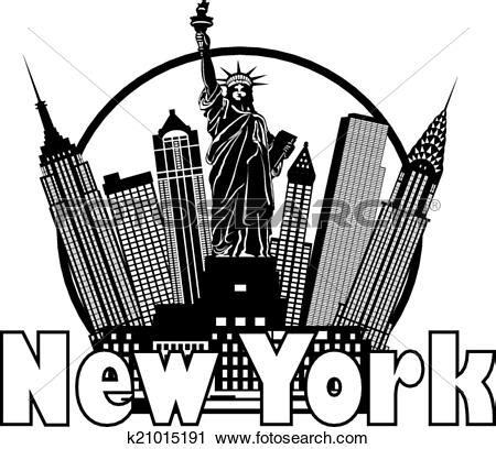New York City Clip City Clipart New York City Pencil And In Color City