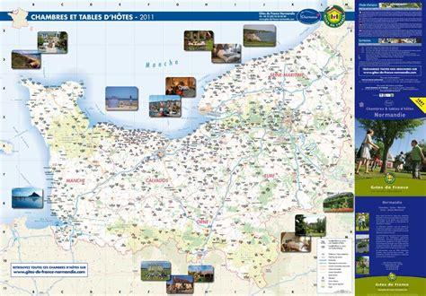 chambre d hotes normandie calaméo carte des chambres d 39 hôtes 2011 en normandie