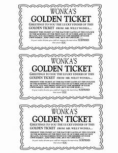 willy wonka golden ticket invitations charlie and the With willy wonka invitations templates