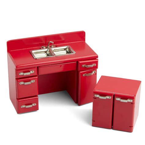 dollhouse kitchen sink dollhouse miniature retro kitchen sink and cabinet set 3422