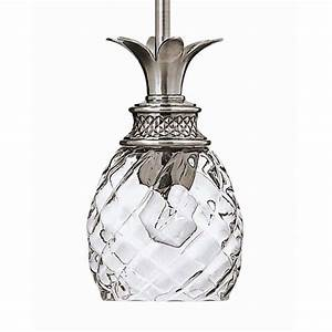 Hinkley lighting pl polished antique nickel light