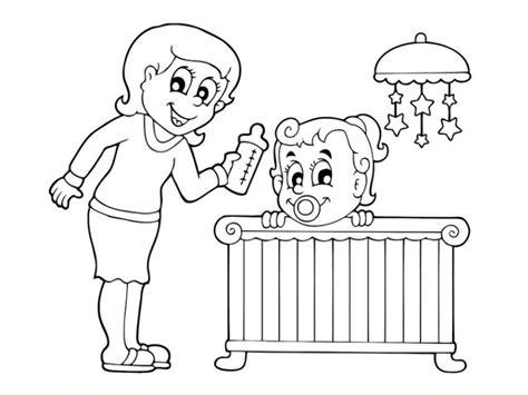 comment dessiner sa chambre coloriages fêtes des mères