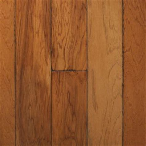 millstead flooring home depot millstead artisan hickory sepia 3 8 in x 4 3 4 in wide x