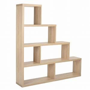 étagère Bibliothèque Bois : clyde etag re de rangement bois ~ Teatrodelosmanantiales.com Idées de Décoration