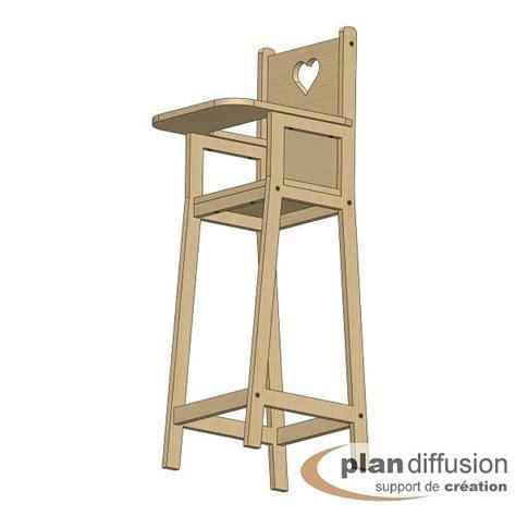 plan de chaise en bois gratuit comment fabriquer une chaise haute pour poupéée
