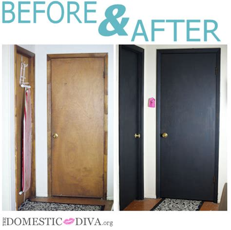paint an interior door with chalkboard paint for a home office bathroom homeschool room