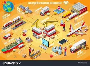 Express Delivery Man Isometric People Vector Stock Vector