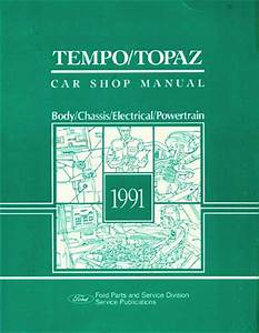 1991 Ford Tempo Wiring Diagram