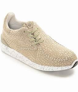 Diamond Supply Co Trek Low Tan Embossed Shoes | Zumiez