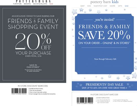 pottery barn promo code pottery barn coupons 20 at pottery barn pottery