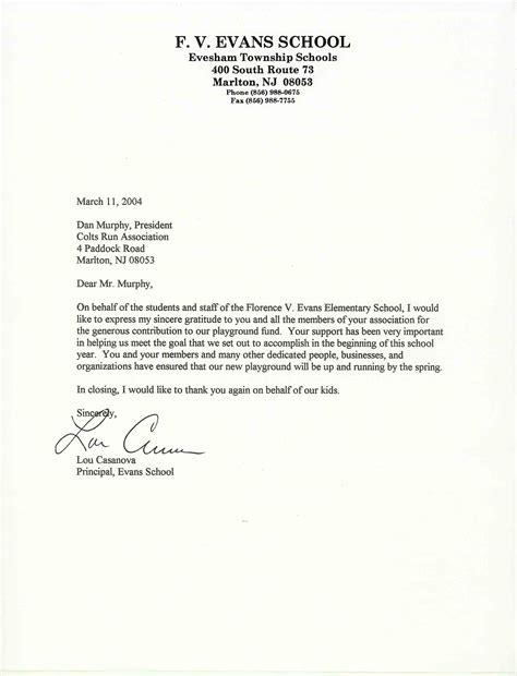 formal letter  school formal letter template