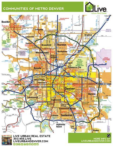 street map  denver colorado  travel information