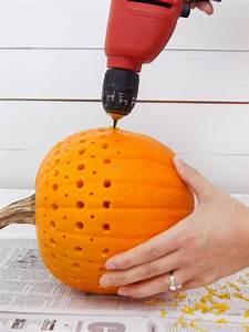 carve, , drill, or, sculpt, a, pumpkin