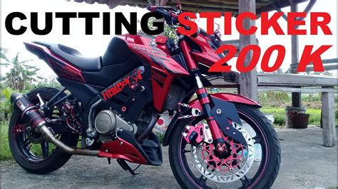 New Vixion Thailook Style by Motif Stiker Motor Vixion Motorcyclepict Co