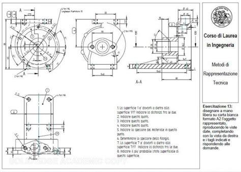 disegno meccanico dispense lezioni ripetizioni disegno tecnico esame politecnico