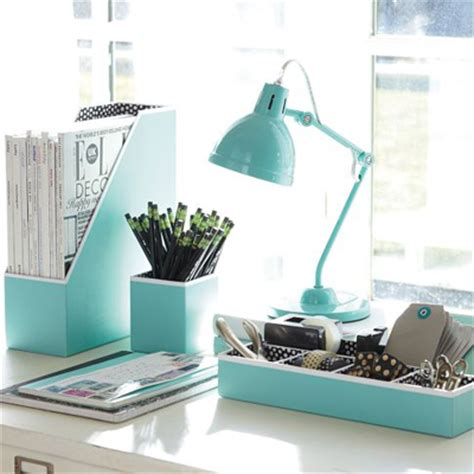 office and desk supplies turquoise office decor by color