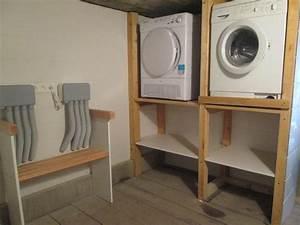 machine laver seche linge With meuble machine a laver et seche linge