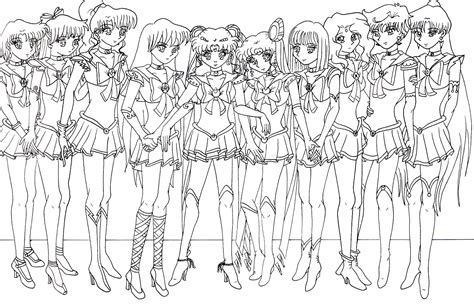 Sailor Moon Coloring Page Coloring Pages For Kids