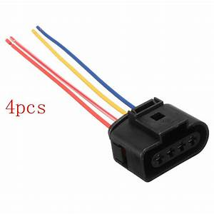 4pcs  Lot 1j0973724 New Ignition Coil Connector Plug Pack