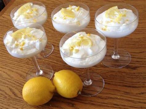 dessert l 233 ger et rapide mousse au citron et au mascarpone tr 232 s facile 192 voir