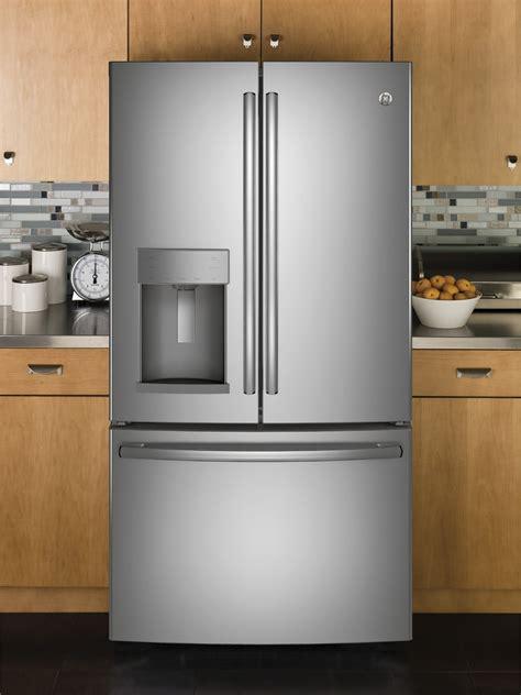 ge gfdgynfs   cu ft french door refrigerator  door  door