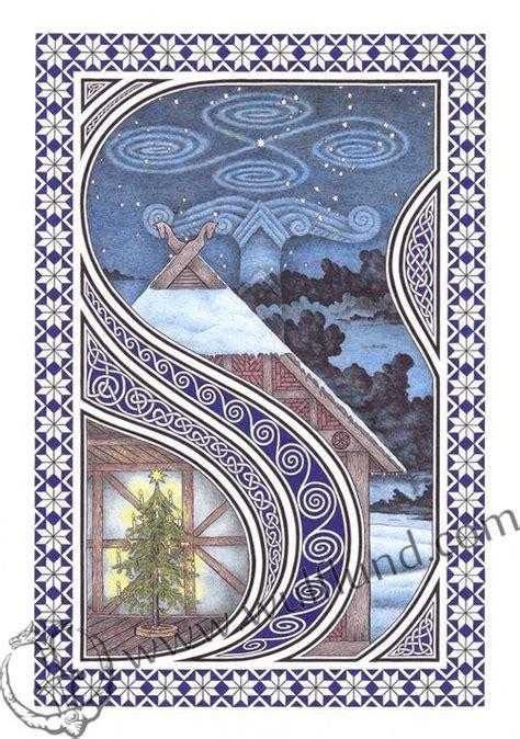 yule winter solstice pagan poster wulflundcom