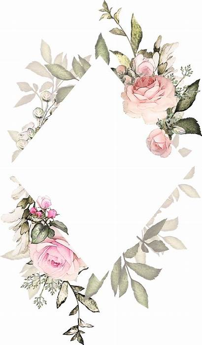 Watercolor Invitation Backgrounds Background Pink Painting Invitations