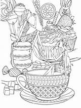 Coloring Zentangle Adults Adult Mycoloring Printable Teens sketch template