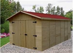 Abri De Jardin Demontable : garage voiture abri garage bois metal kit promo france abris ~ Nature-et-papiers.com Idées de Décoration