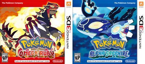 pokemon omega ruby alpha sapphire pokemon