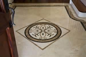 foyer marble medallion