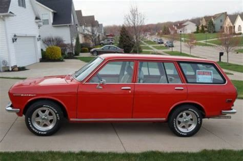 1972 Datsun 510 Wagon by 1972 Datsun 510 Wagon V4 Manual For Sale By Owner In