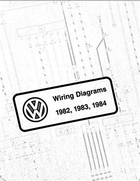 1982 Volkswagen Rabbit Fuse Box Diagram by Vw Wiring Diagram Pdfs 1982 1983 1984 Chris Chemidl In